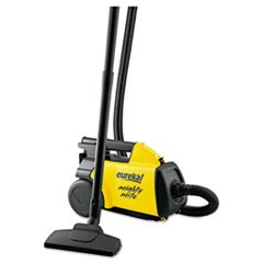 1Lightweight Mighty Mite Canister Vacuum, 9A Motor, 8.2 lb, Yellow