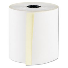 "RegistRolls Two-Part Carbonless POS Rolls, 3"" x 100', White, 30/Carton"