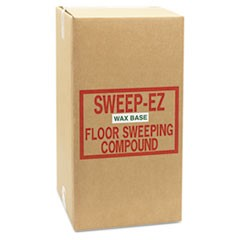 Wax-Based Sweeping Compound, 50lbs, Box
