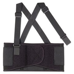 ProFlex 1650 Economy Elastic Back Support, Medium, Black