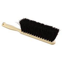 "Counter Brush, Tampico Fill, 8"" Long, Tan Handle"