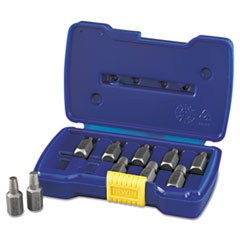 "10-Piece Screw Extractor Set, 1/8"" to 13/32"""