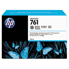 HP 761, (CM996A) Dark Gray Original Ink Cartridge
