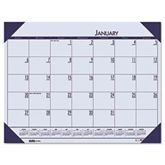 EcoTones Sunset Orchid Monthly Desk Pad Calendar, 22 x 17, 2016