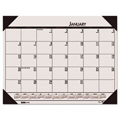 EcoTones Sunrise Rose Monthly Desk Pad Calendar, 22 x 17, 2016