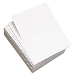 "Custom Cut-Sheet Copy Paper, 92 Bright, 20lb, 8-1/2x11, Perf 5 1/2"", 2500/CT"