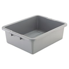 Bus/Utility Box, 7.125gal, Gray