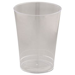 Comet Plastic Tumblers, Cold Drink, Clear, 10oz, 500/Carton
