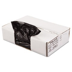 Linear Low Density Can Liner, 1.2mil, 43 x 47, Black, 10 Bags/Roll, 10 Rolls/CT