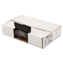 Linear Low Density Can Liners, 1mil, 24 x 32, Black, 10 Bag/Roll, 15 Roll/CT