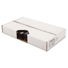 Perforated Coreless Roll Can Liners, 40 x 46, Black, 100/Carton