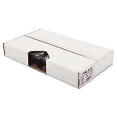 Linear Low Density Can Liner, 1.6mil, 38 x 58, Black, 10 Bags/Roll, 10 Rolls/CT