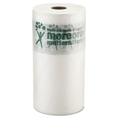 "Produce Bags, 9 microns, 10"" x 15"", Clear, 1400/Roll, 4 Rolls/Carton"