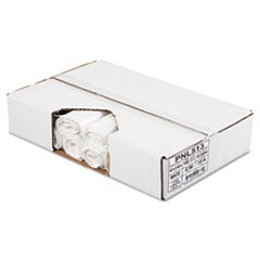 Linear Low Density Can Liners, 40 x 46, White, 100/Carton