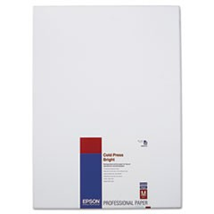 Cold Press Bright Fine Art Paper, 13 x 19, Bright White, 25 Sheets