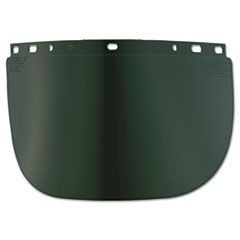 High Performance Face Shield Window, Wide Vision, Propionate, Dark Green