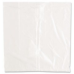 "Ice Bucket Liner Bags, 3 qt, 0.24 mil, 12"" x 12"", Clear, 1,000/Carton"