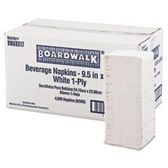 10 X 10 1 PLY BEVERAGE NAPKIN, WHITE 4,000/CS
