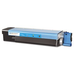 MDA40034 C6100 Compatible, New Build, 43865719 Laser Toner, 6,000 Yield, Cyan