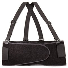 Economy Back Support Belt, Medium, Black