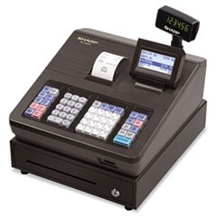 1XE Series Electronic Cash Register, Thermal Printer, 2500 Lookup, 25 Clerks, LCD