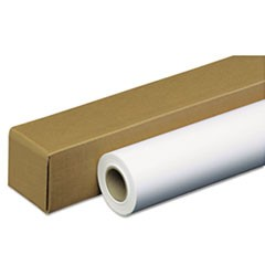 "Amerigo Wide-Format Paper, 2"" Core, 35 lb, 42"" x 100 ft, Coated White"
