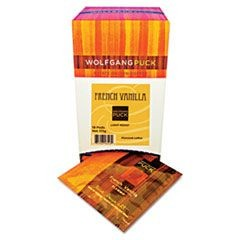 Coffee Pods, French Vanilla, 18/Box