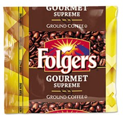 Coffee, Fraction Pack, Gourmet Supreme, 1.75oz, 42/Carton