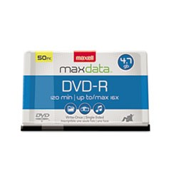 1DVD-R Discs, 4.7GB, 16x, Spindle, Gold, 50/Pack
