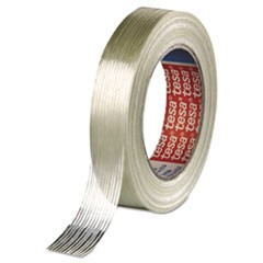 "Economy Grade Filament Strapping Tape, 3/4"" x 60yd, Clear"