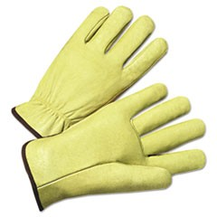 4000 Series Pigskin Leather Driver Gloves, X-Large