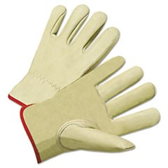 4000 Series Cowhide Leather Driver Gloves, X-Large