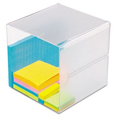 Stackable Cube Organizer, 6 x 6 x 6, Clear