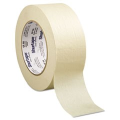 "Contractor/Professional Grade Masking Tape, 2"" x 60yd, Crepe"