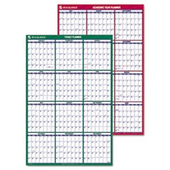 Vertical Erasable Wall Planner, 24 x 36, 2015-2016/2016