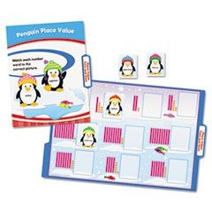 CenterSOLUTIONS Math File Folder Games, Grade 1