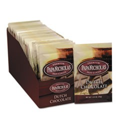 Premium Hot Cocoa, Dutch Chocolate, 24/Carton