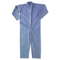 A65 Flame Resistant Coveralls,  X-Large, Blue
