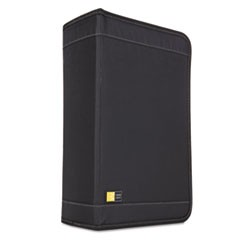 1CD/DVD Wallet, Holds 136 Discs, Black