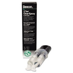 2 Ton Clear Epoxy, 0.85 oz, Dries White