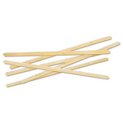"Renewable Wooden Stir Sticks - 7"", 1000/PK, 10 PK/CT"