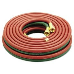 "Twin Welding Hose, 3/16"" x 25ft, B-B"