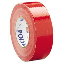 "Duct Tape, 2"" x 60yds, Red"