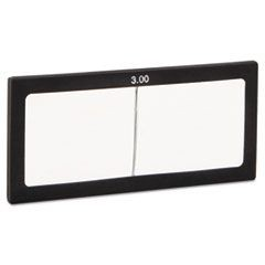 "Magnifier Lens, 2"" x 4 1/4"", Glass, 3.0 Diopter"