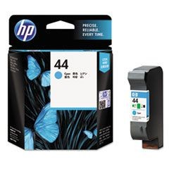 HP 44, (51644C) Cyan Original Ink Cartridge