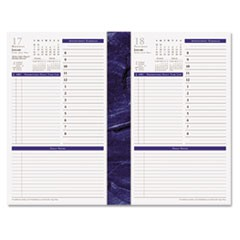 Monticello Dated One-Page-per-Day Planner Refill, 5-1/2 x 8-1/2, 2016