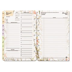 Blooms Dated Daily Planner Refill, January-December, 5 1/2 x 8 1/2, 2019
