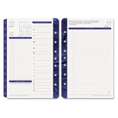 Monticello Dated Two-Page-per-Day Planner Refill, 5-1/2 x 8-1/2, 2016
