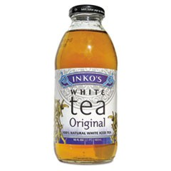 Ready-To-Drink Original White Tea with Ginger, 16oz Bottle, 12/Carton