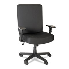 Alera XL Series Big & Tall High-Back Task Chair, Black